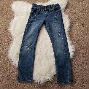 Levi's slim skinny Jeans for kids boys. Size 10